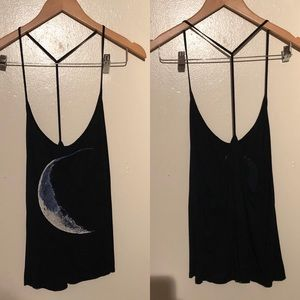 Tops - Crescent Moon Top